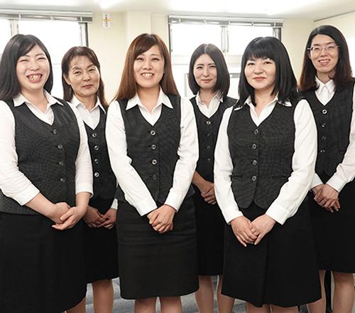 九州防水総務社員